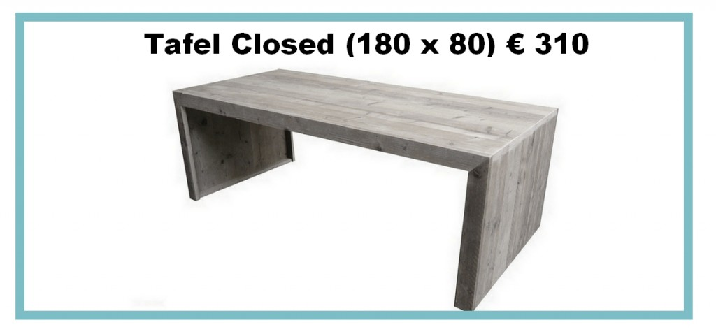 Tafel closed